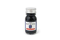 J. Herbin Fountain Pen Ink - 10 ml Bottle - Eclat de Saphir (Sapphire Blue) - J. HERBIN H115/16