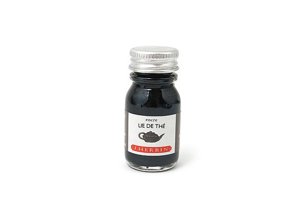J. Herbin Fountain Pen Ink - 10 ml Bottle - Lie de Thé (Tea Brown) - J. HERBIN H115/44