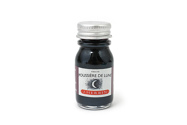J. Herbin Fountain Pen Ink - 10 ml Bottle - Poussière de Lune (Moon Dust Purple) - J. HERBIN H115/48