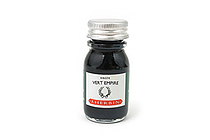 J. Herbin Fountain Pen Ink - 10 ml Bottle - Vert Empire (Empire Green) - J. HERBIN H115/39