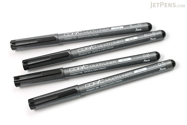 Copic Multiliner Pen - Broad - 4 Pen Set - COPIC MLBBROAD