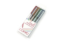 Copic Multiliner Pen - 0.3 mm - 4 Color Set - COPIC MLCLR03