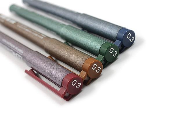Copic Multiliner Pen - 0.3 mm - 4 Color Set - COPIC MLCLR03