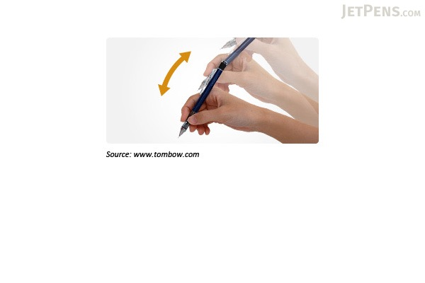 Tombow Mono Graph Shaker Mechanical Pencil - 0.5 mm - Standard - TOMBOW SH-MG