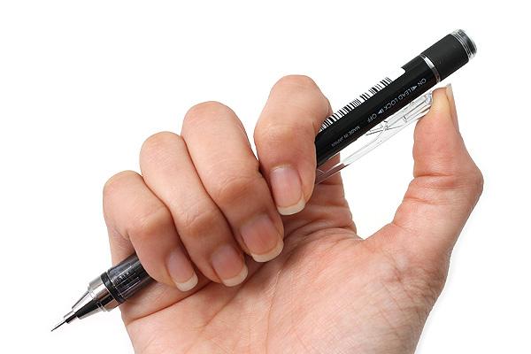 Tombow Mono Graph Shaker Mechanical Pencil - 0.5 mm - Black - TOMBOW SH-MG11