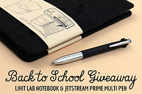 Pen Perks: Back to School Giveaway #1