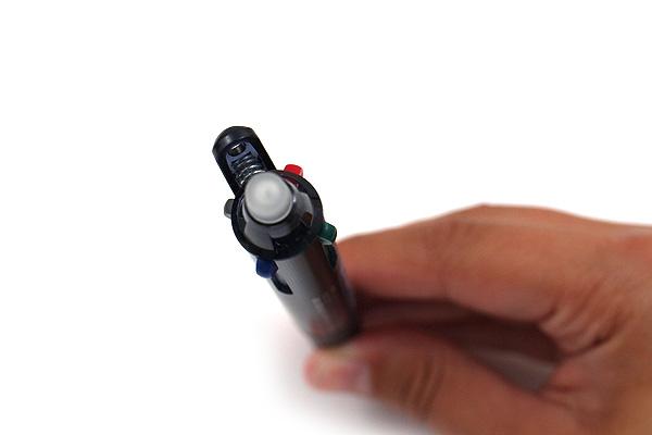 Pilot FriXion Ball 4 4 Color Gel Ink Multi Pen - 0.5 mm - Dark Blue - PILOT LKFB-80EF-DL