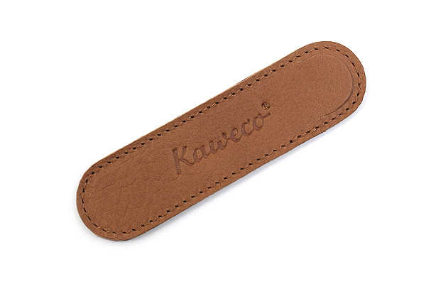 Kaweco Eco Leather Pouch - Liliput 1 Pen - Cognac Brown - KAWECO 10000709