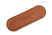 Kaweco Eco Leather Pouch - 2 Liliput Pens - Cognac Brown - KAWECO 10000710