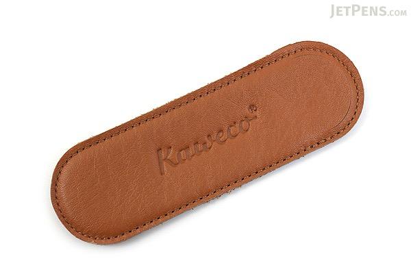 Kaweco Eco Leather Pouch - 2 Liliput Pens - Cognac Brown - KAWECO 10000710