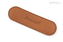 Kaweco Eco Leather Pouch - 1 Sport Pen - Cognac Brown - KAWECO 10000705