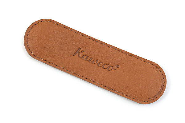Kaweco Eco Leather Pouch - Sport 1 Pen - Cognac Brown - KAWECO 10000705