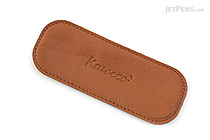 Kaweco Eco Leather Pouch - 2 Sport Pens - Cognac Brown - KAWECO 10000706