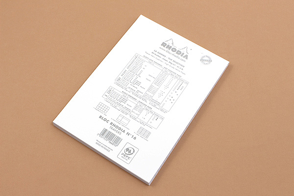 Rhodia Ice Pad No. 16 - A5 - Lined - RHODIA 16601W