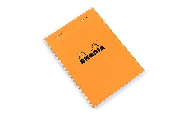 Rhodia Pad No. 13 - A6 - Graph - Orange - RHODIA 13200