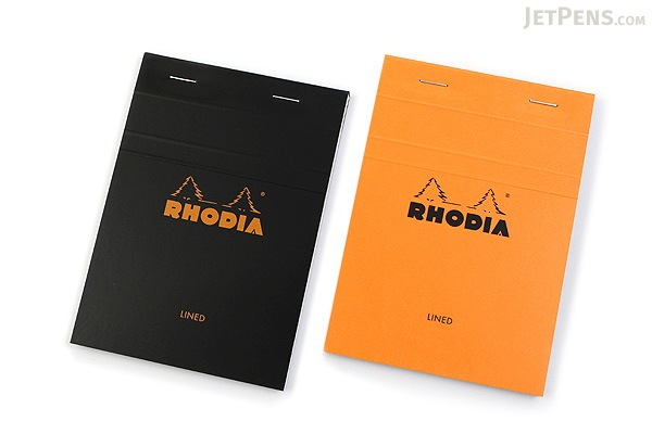 Rhodia Pad No. 13 - A6 - Lined - Black - RHODIA 136009