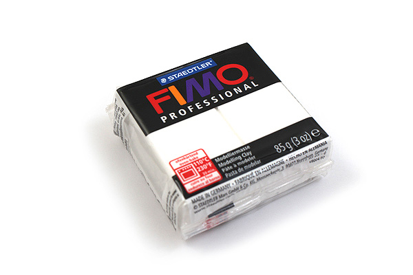 Staedtler FIMO Professional Modeling Clay - White - STAEDTLER 8005-0