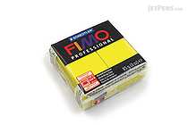 Staedtler FIMO Professional Modeling Clay - Lemon Yellow - STAEDTLER 8004-1