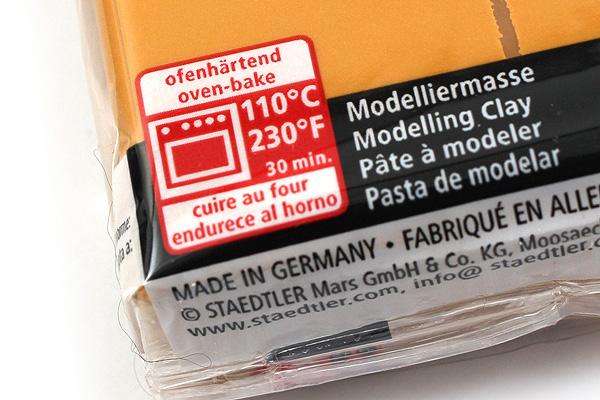 Staedtler FIMO Professional Modeling Clay - Ochre - STAEDTLER 8004-17