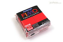 Staedtler FIMO Professional Modeling Clay - True Red - STAEDTLER 8004-200