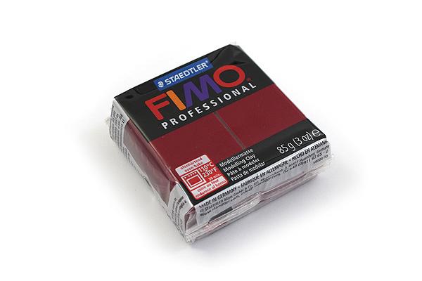 Staedtler FIMO Professional Modeling Clay - Bordeaux - STAEDTLER 8004-23