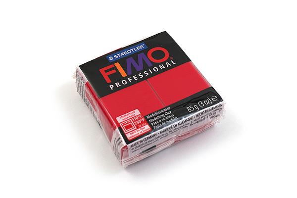 Staedtler FIMO Professional Modeling Clay - Carmine - STAEDTLER 8005-29