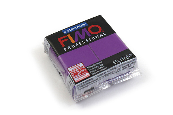 Staedtler FIMO Professional Modeling Clay - Lilac Purple - STAEDTLER 8004-6