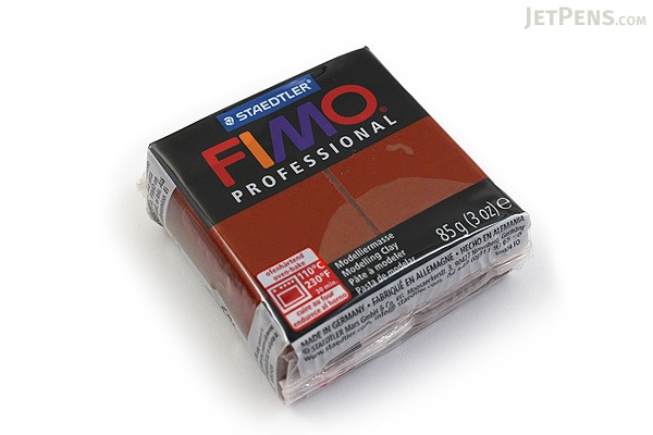 Staedtler FIMO Professional Modeling Clay - Chocolate - STAEDTLER 8004-77