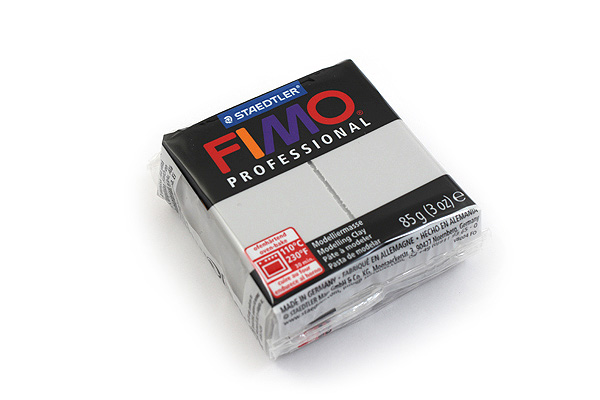 Staedtler FIMO Professional Modeling Clay - Dolphin Grey - STAEDTLER 8004-80