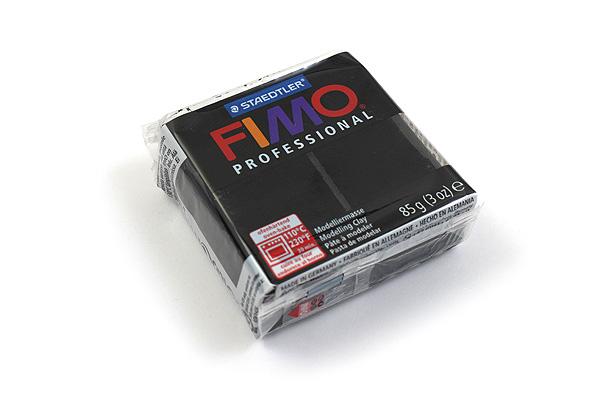 Staedtler FIMO Professional Modeling Clay - Black - STAEDTLER 8004-9