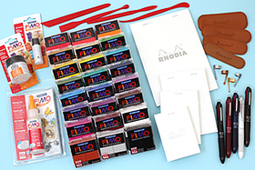 New Products: Paper, Leather Pouches, Note Pads, Multi Pens, Modeling Clay, and More!