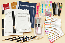 New Products: Notebooks, Brush Pens, Rulers, Page Markers, Mechanical Pencils, and More!