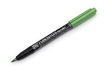 Kuretake Zig Fudebiyori Metallic Brush Pen - Light Green - KURETAKE CBK-55MT-128