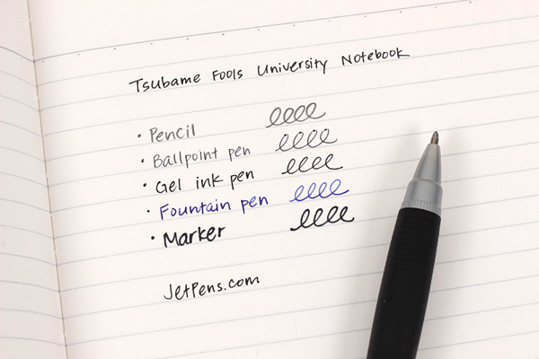 Tsubame Fools University Notebook - H30S - A5 - 7 mm Rule - TSUBAME H2001