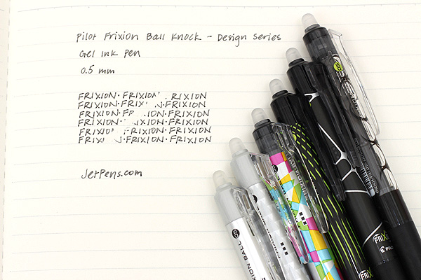 Pilot FriXion Ball Knock Design Series Gel Pen - 0.5 mm - Circle - PILOT LFBK-23EF-DCCB