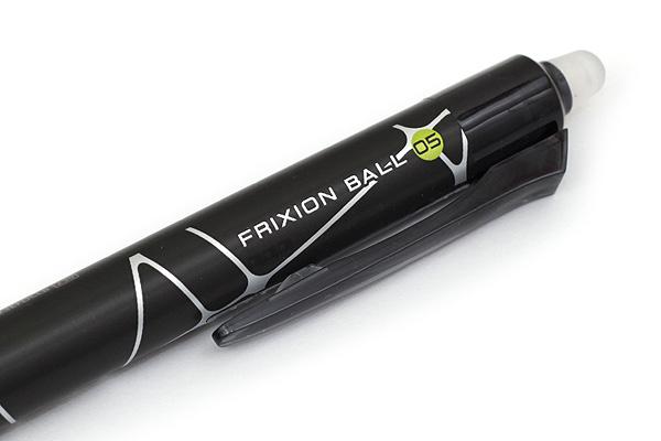 Pilot FriXion Ball Knock Design Series Gel Pen - 0.5 mm - Cross Line - PILOT LFBK-23EF-DCLB