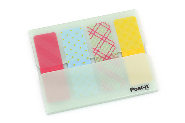 3M Post-it Portable Design Film Page Markers - Green - 3M PDF-GN