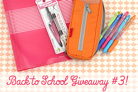 Pen Perks: Back to School Giveaway #3