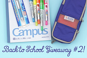 Pen Perks: Back to School Giveaway #2