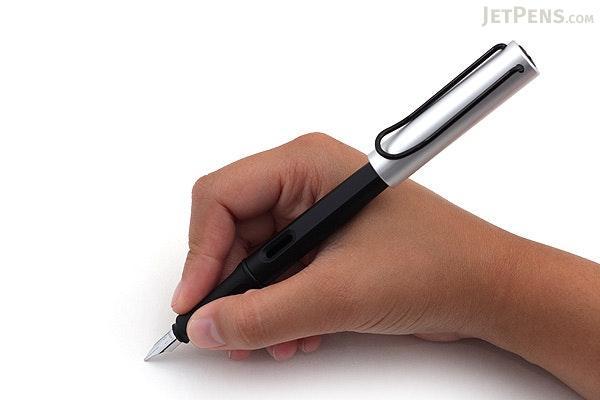 Lamy Joy Calligraphy Fountain Pen - Black - Aluminum Cap - 1.1 mm Nib - LAMY L11-1.1