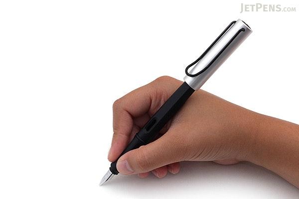 Lamy Joy Calligraphy Fountain Pen - Black - Aluminum Cap - 1.9 mm Nib - LAMY L11-1.9