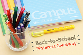 Pen Perks: Pinterest Back to School Giveaway