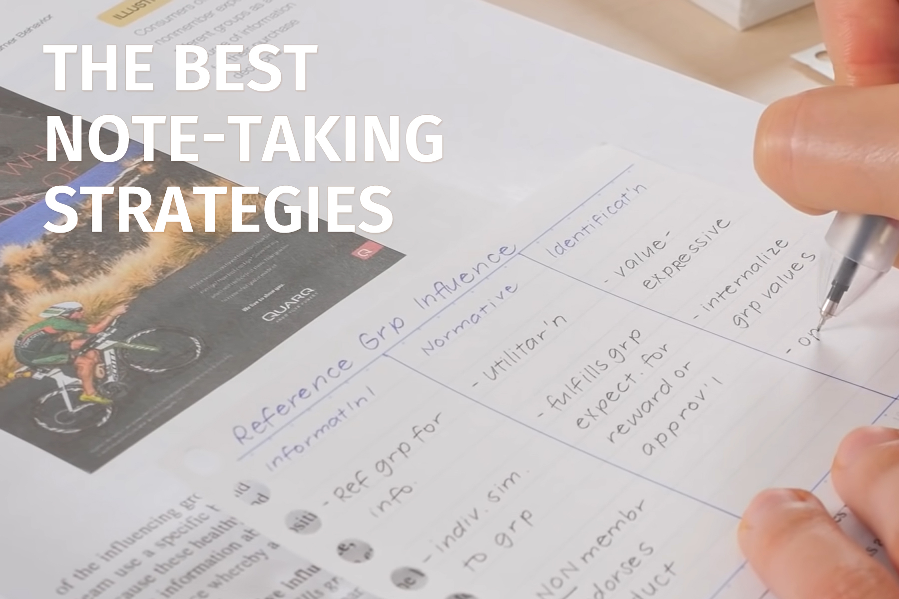 Note-Taking Tips for Students
