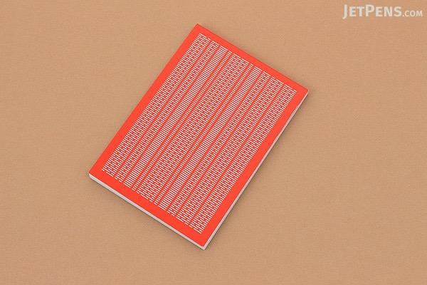 Craft Design Technology Graffiti Memo Pad - A7 - 3 mm Graph - Vermilion - CDT TBPH2-034VE