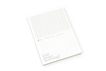 Craft Design Technology Item 35 Notebook - A5 - Lined - Gray - CDT TKPH1-027A5GR