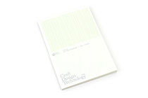 Craft Design Technology Item 35 Notebook - A5 - Lined - Pale Green - CDT TKPH1-027A5PG