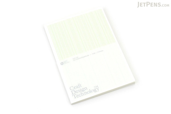 Craft Design Technology Item 35 Notebook - A5 - Lined - Pale Green - CDT TKPH1-027A5PG