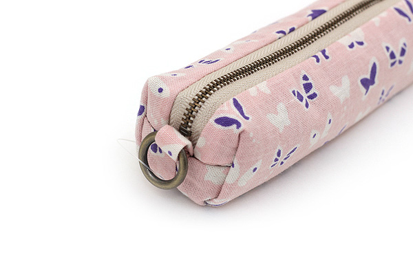Miyamoto Collection Retro Komon Pen Case - Butterflies - MIYAMOTO 07401