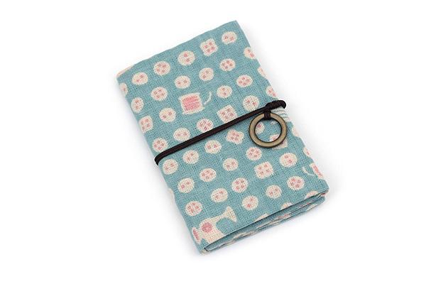 Miyamoto Collection Retro Komon Card Pocket Case - Buttons - MIYAMOTO 07357