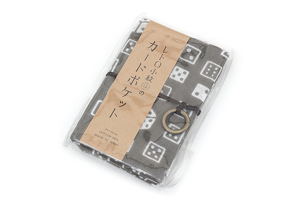 Miyamoto Collection Retro Komon Card Pocket Case - Dice - MIYAMOTO 07352